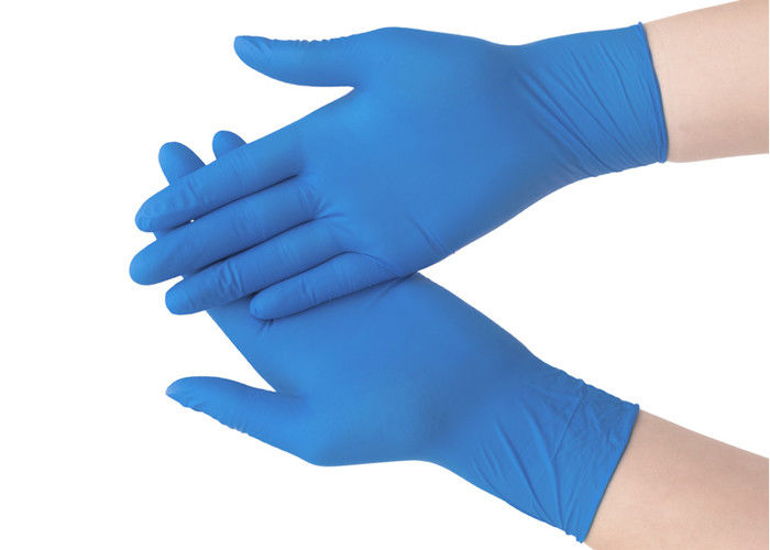 Multi Purpose Smooth Nitrile Disposable Protective Gloves